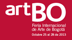 Alberto BOrea at ArteBo fair 2013
