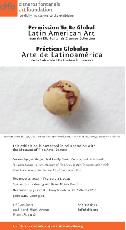 Alberto Borea in Permission To Be Global Latin American Art from the Ella Fontanals- Cisneros Colletion